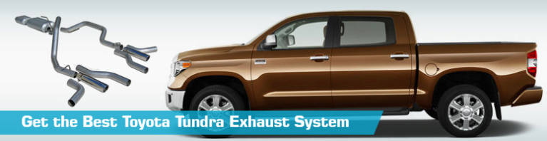 toyota tundra exhaust system cat back