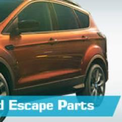 2002 Ford Escape Exhaust Diagram Trailer 7 Wire Parts Partsgeek Com Replacement
