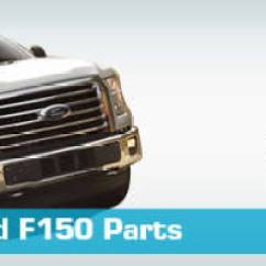 1999 Ford F250 Trailer Wiring Diagram Rv 7 Blade Connector F150 Parts - Partsgeek.com