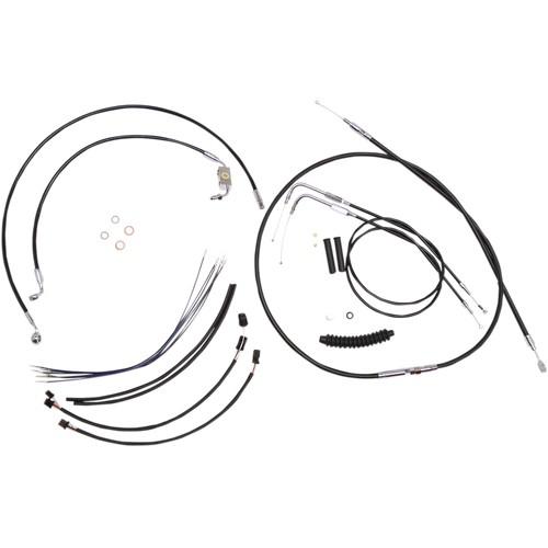 Magnum Ape Hanger Handlebar Installation Kit without Lower
