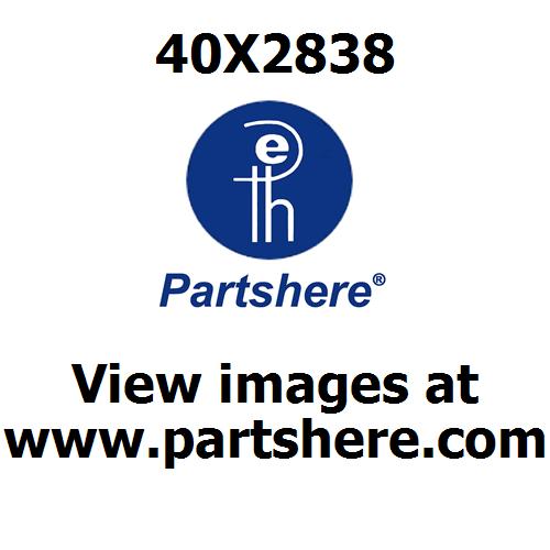 40X2838 Printer Parts Diagram