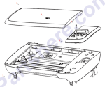 CB376-67901 HP Flatbed scanner assembly for L at Partshere.com