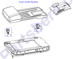 Q6500-67902 HP Flatbed scanner assembly for L at Partshere.com