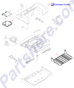 RB1-9088-000CN HP Envelope feeder input tray at Partshere.com