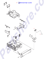 RM1-0705-000CN HP 500-sheet paper cassette tray at