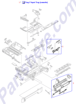 RM1-1923-000CN HP Manual paper feed assembly (tr at