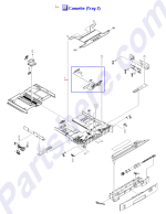 RM1-2479-060CN HP Tray Assembly : 250-sheet pape at