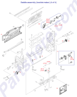RM1-4178-000CN HP Saddle stapler assembly at Partshere.com