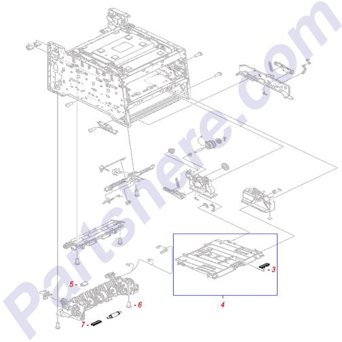 RM1-4840-000CN Printer Parts Diagram