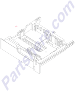 RM1-6942-000CN HP 250-sheet paper cassette tray at