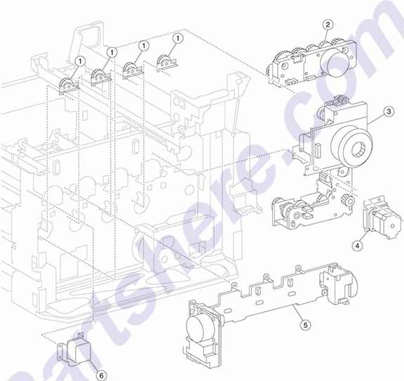 40X3670 HP printer parts and toner at Partshere.com
