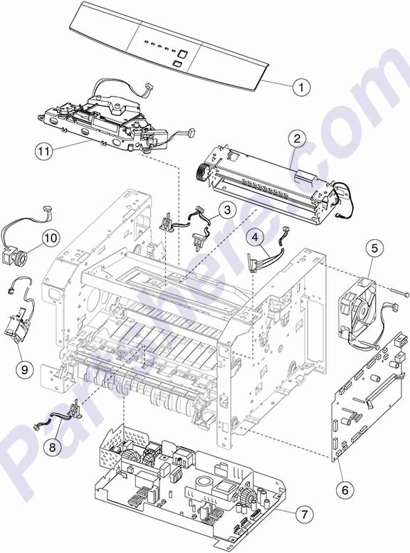 Printer Parts Diagram, Printer, Free Engine Image For User