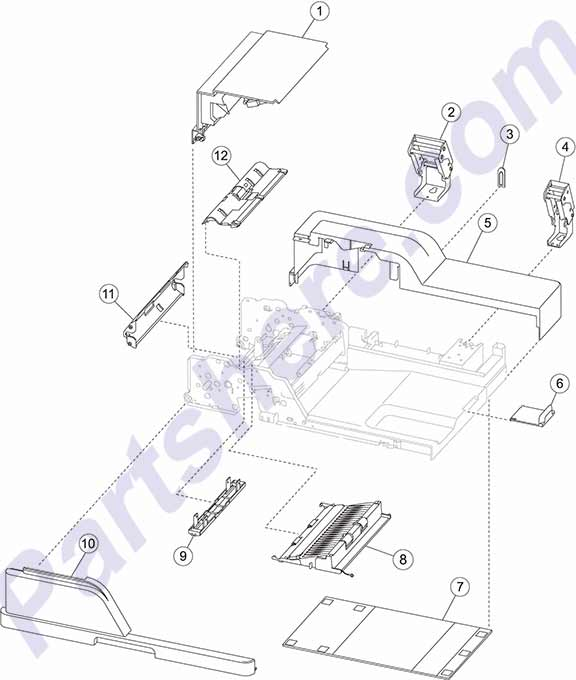 40X2746 printer picture diagrams and photos