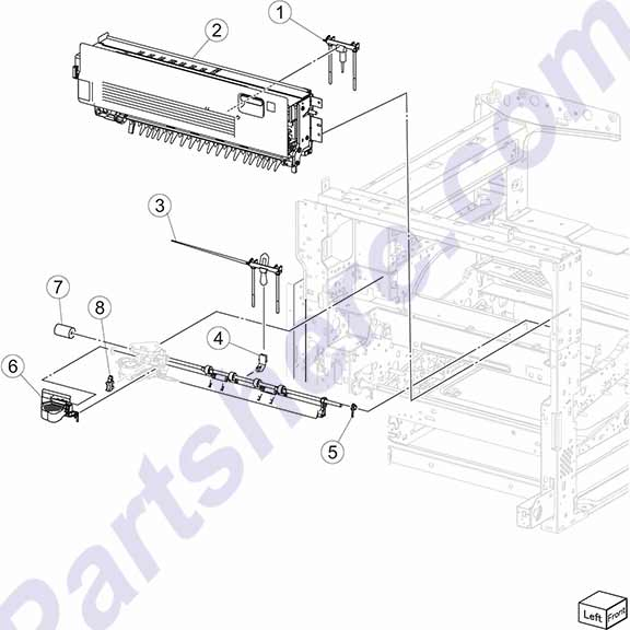 40X6723 printer picture diagrams and photos