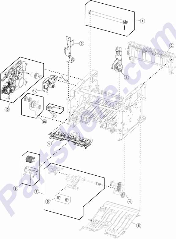 40X8437 printer picture diagrams and photos