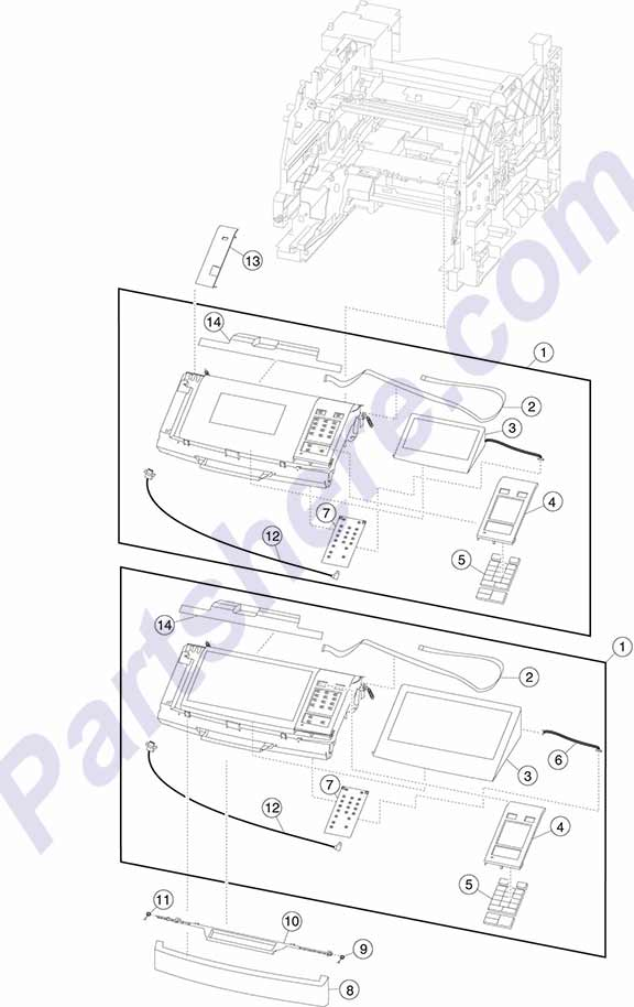 40X7879 printer picture diagrams and photos