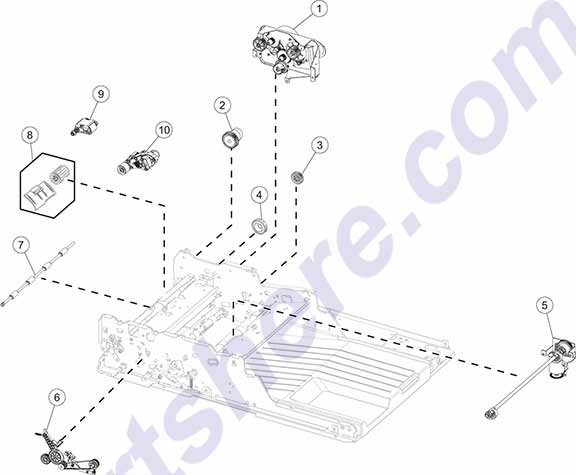 40X7767 printer picture diagrams and photos