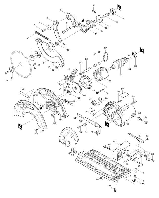 Wiring Diagram For Makita Hm0870c