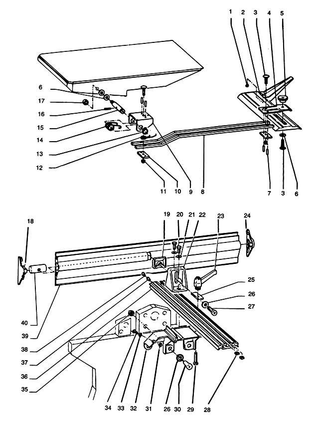 DeWalt DW1150----E Type 1 Planer Thicknesser Spare Parts