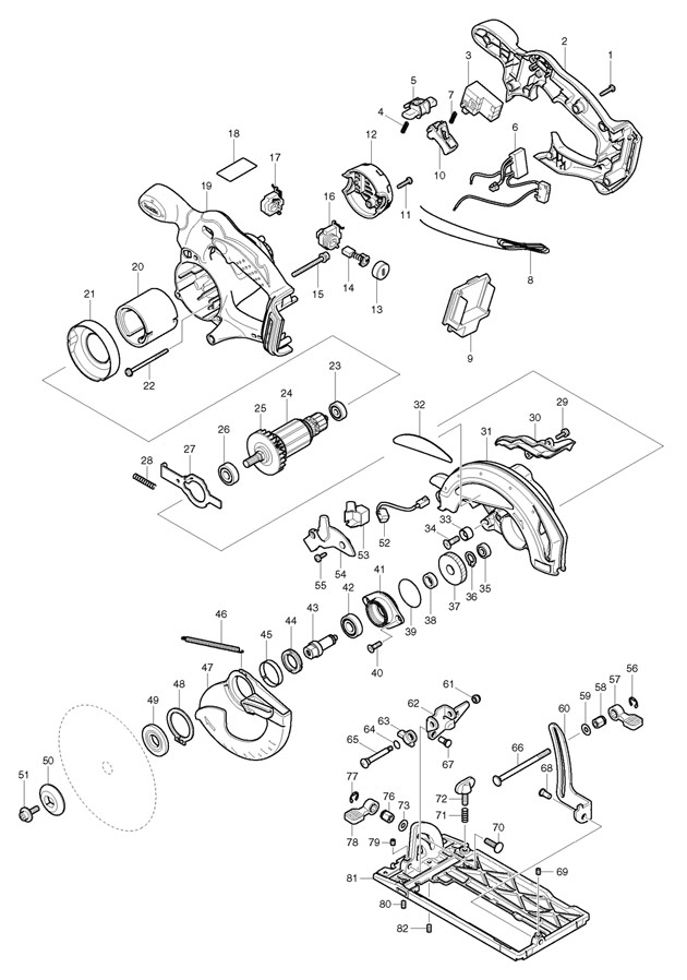 Makita Blower Wiring Diagram
