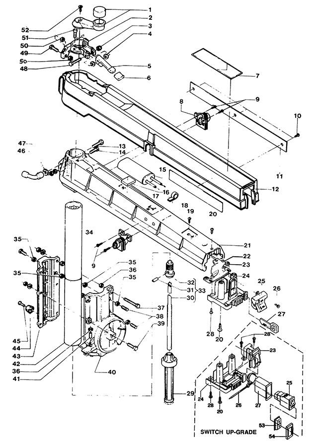 Anyone unusually familiar with old Dewalt radial arm saws?