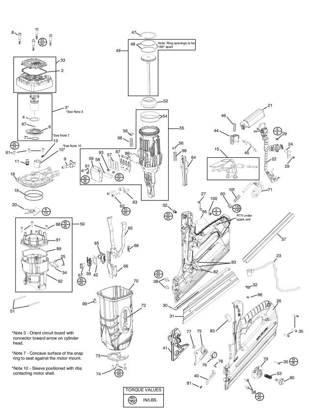 Paslode Framing Nailer Spare Parts Reviewmotors Co