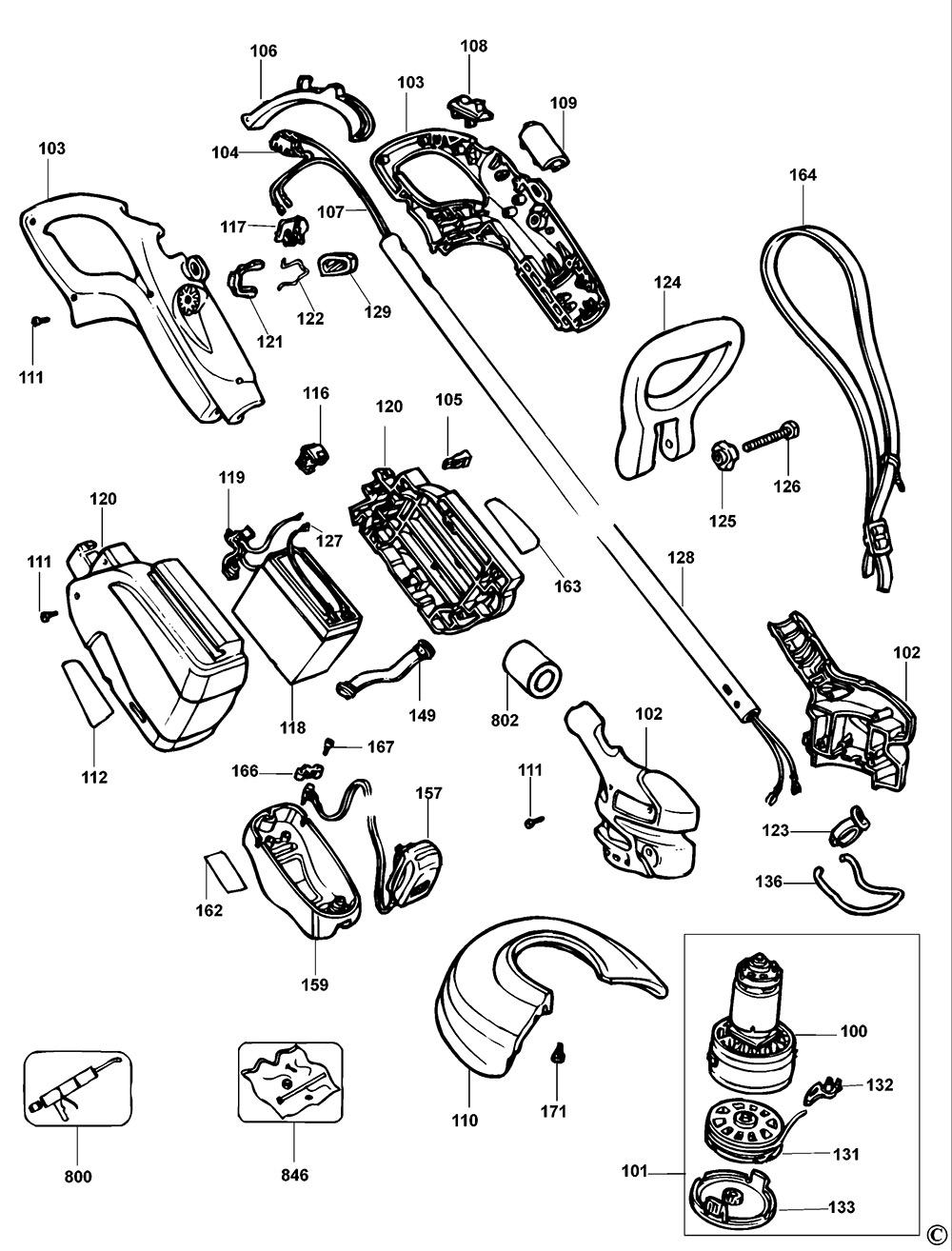 Black & Decker GLC120 Type 2 Cordless String Trimmer Spare
