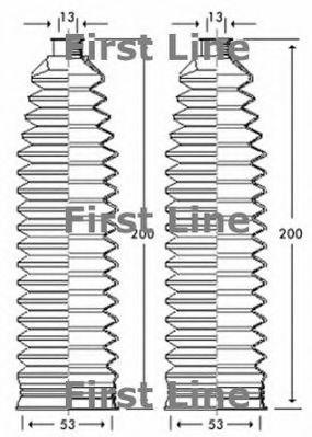 VAUXHALL ASTRA G 1.6 Steering Rack Boot 98 to 06 Gaiter