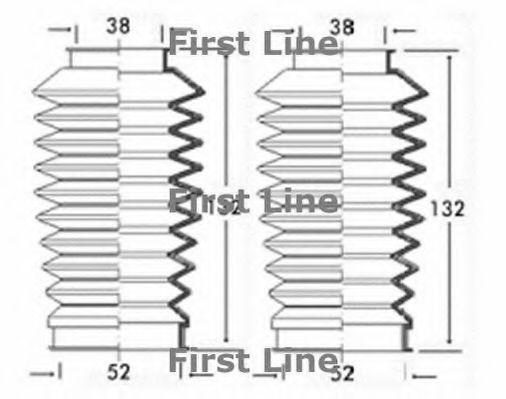 VAUXHALL ASTRA Mk2 1.6 Steering Rack Boot 84 to 91 Gaiter