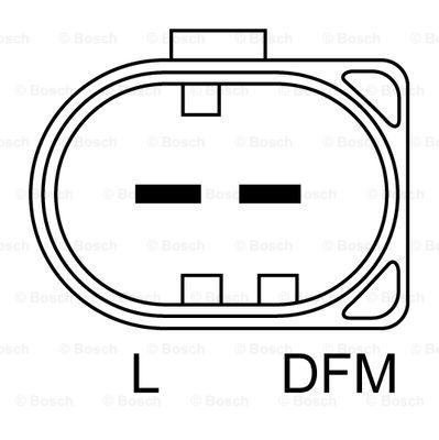 MERCEDES VITO W639 2.2D Alternator 03 to 10 Manual Bosch
