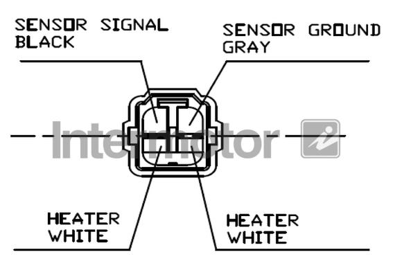 Lambda Sensor fits SUBARU JUSTY Mk2 1.3 Pre Cat 01 to 03