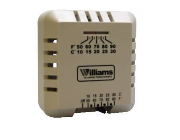Williams Furnace MILIVOLT THERMOSTAT P322016For Use With