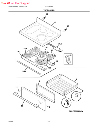Frigidaire Microwave Drawer