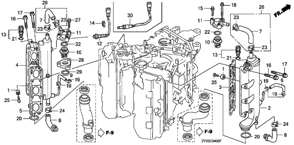 Honda Bf50a Parts Diagram. Honda. Auto Wiring Diagram