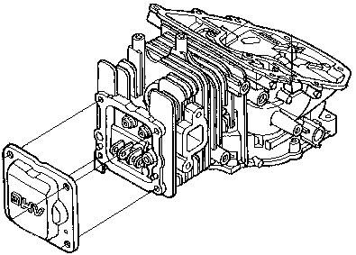 Выбор блока мотора Honda BF2,3 D6 SС HU для выбора запчасти.