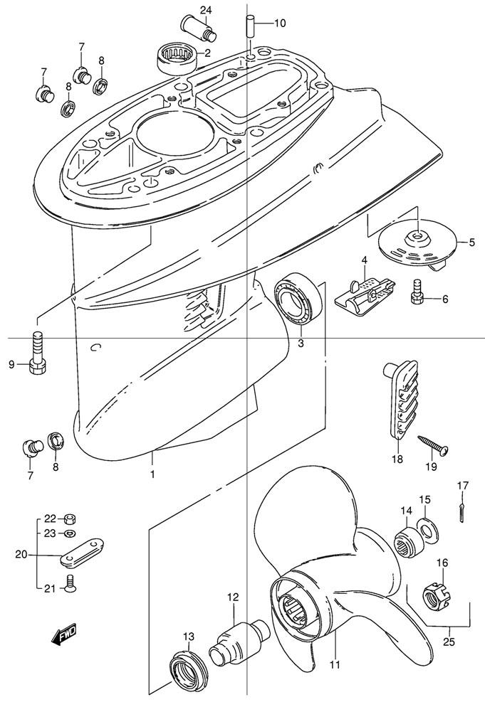 Купить запчасти картера коробки передач, редуктор Suzuki