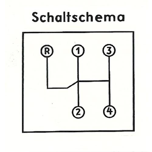 diagram wiring a amp 1959 porsche 356a shift pattern decal -  partsklassik classic parts