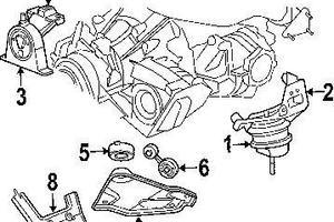 2007 Chrysler Pacifica Motor Mount Diagram Html