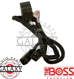 boss msc03741 snow plow wiring harness ebay boss plow wiring harness diagram boss plow wiring harness [ 2000 x 2000 Pixel ]