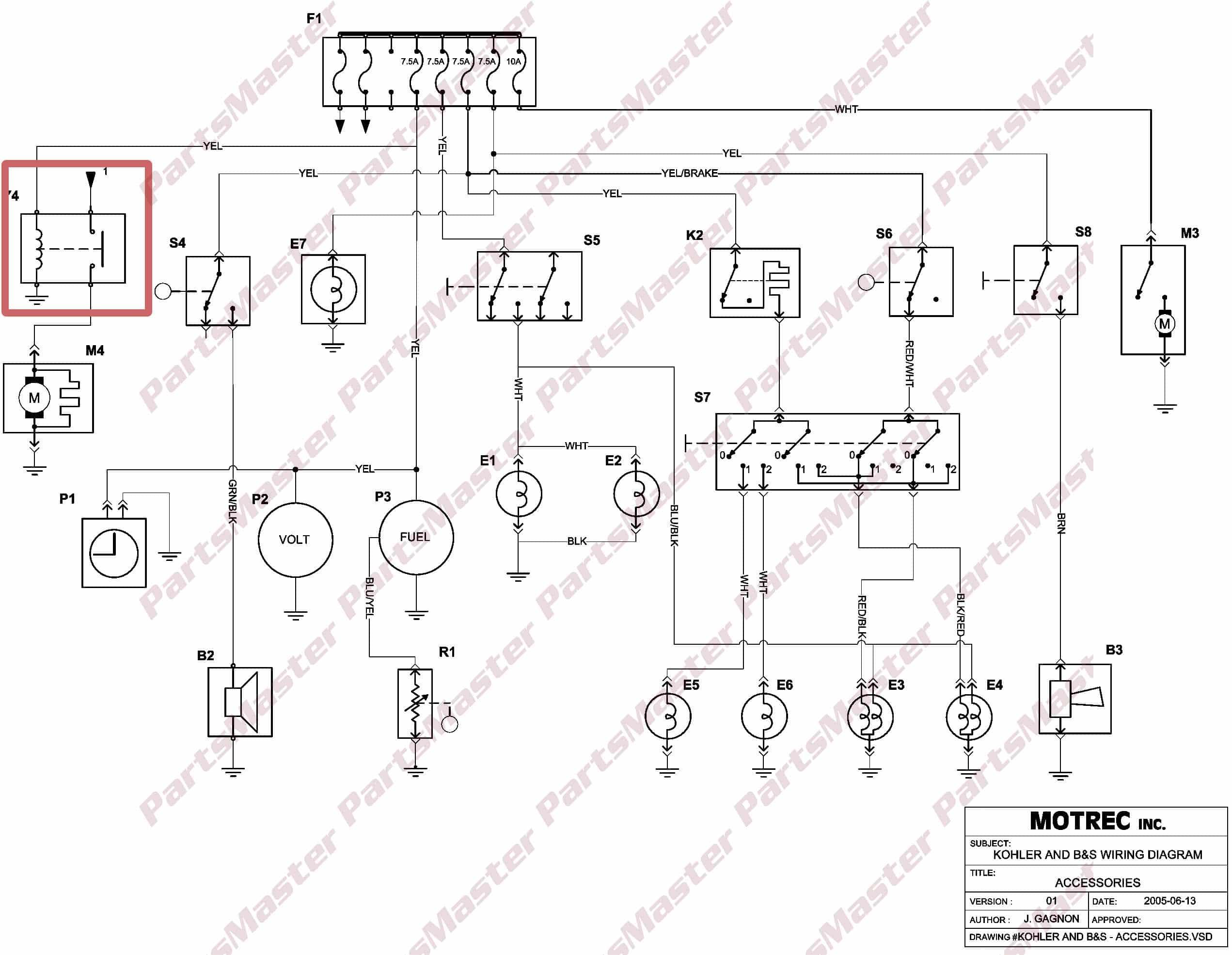 Motrec Wiring Diagram | Wiring Diagram on