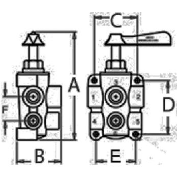 www.partsmate.net : FUEL VALVE 6 PORT 34-FV65038 FV65038