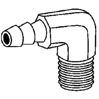 www.partsmate.net : Brass Fittings 32041 Forged Hose Barb