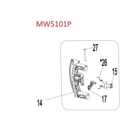 Washing Machine Door Handle Parts