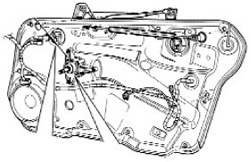PartsPlaceInc.com: VW parts: Window Regulators