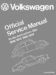 PartsPlaceInc.com: VW Air Cooled Old Beetle-Ghia: Manuals