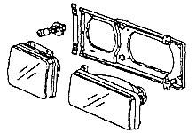 PartsPlaceInc.com: VW parts: Vanagon: Body, Head Lights