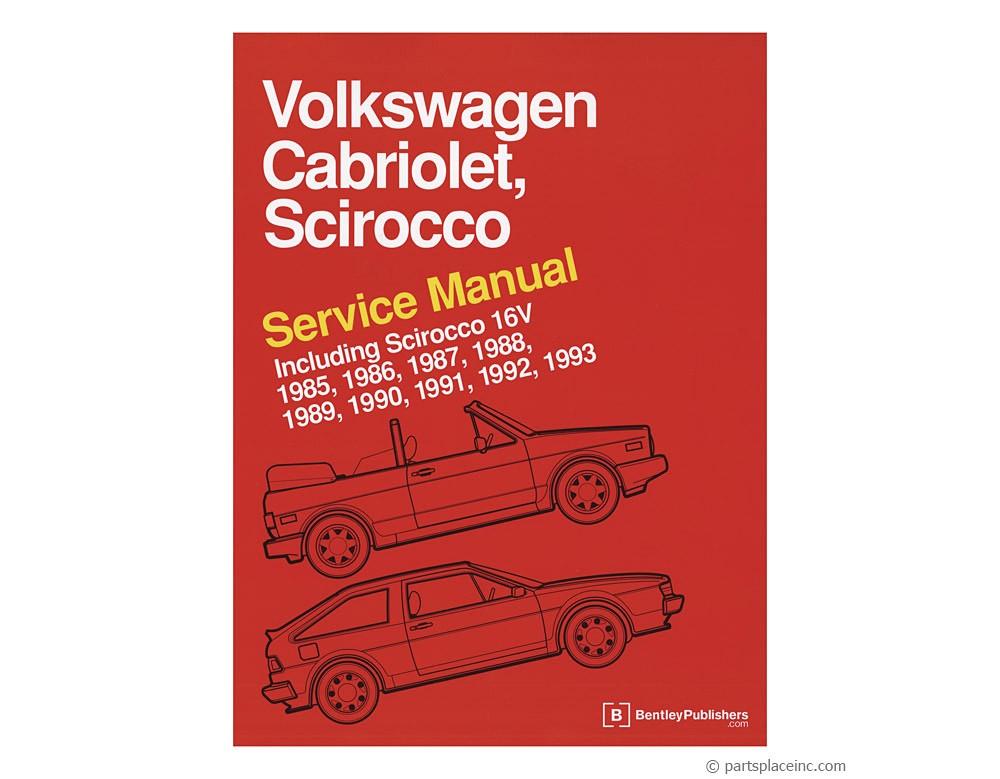 1956 Bentley Wiring Diagram Vw Cabriolet And Scirocco Bentley Manual Free Tech Help