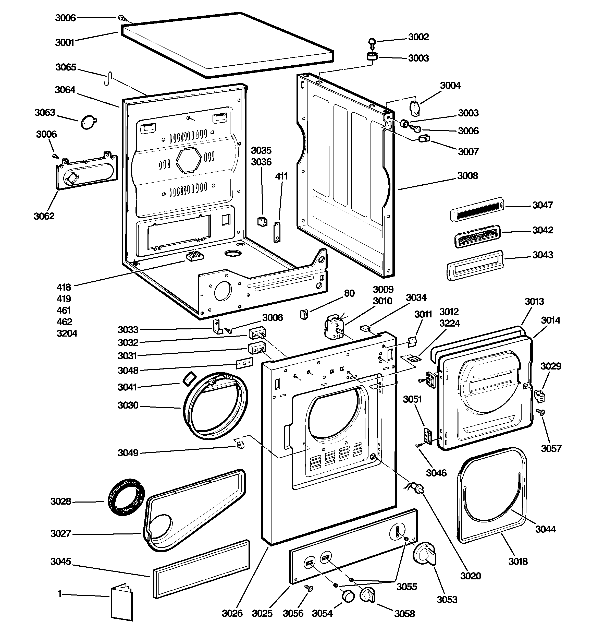 Whirlpool Roper Dryer Wiring Schematic