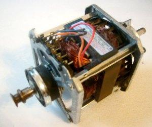 GE Dryer Motor WE17M24 Manufacturer # 5KH26GJ116T 572D676G003