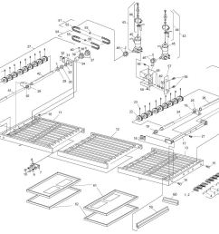 ps360ewb 1 3 2 3 split belt conveyor [ 1146 x 903 Pixel ]